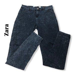 Zara Acid Wash Skinny Jeggings Jeans Size 4